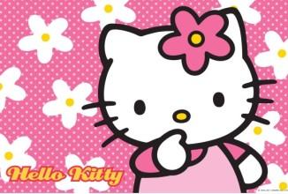 gratis verzameling Hello Kitty kleurplaten
