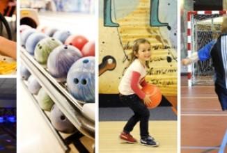 Kinderfeestje bowlen, sporten & make-uppen