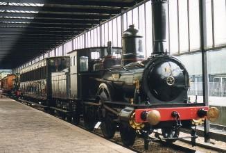 Kinderfeestje in het Spoorwegmuseum