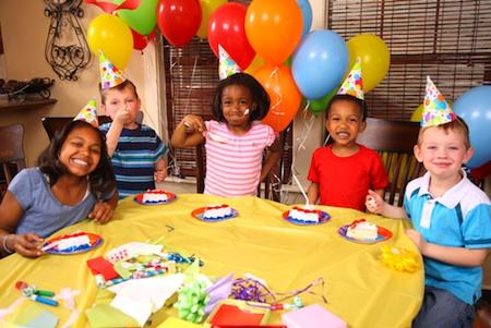 tips voor kinderfeestjes