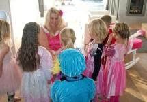 Prinsesjesfeest vieren