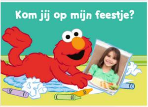 uitnodigingskaartje kinderfeestje