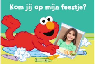 Uitnodigingskaartje kinderfeestje ontwerpen bij Greetz
